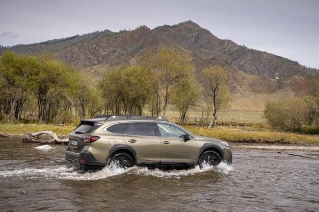 Докопаться до запятой: Subaru Outback. Subaru Outback