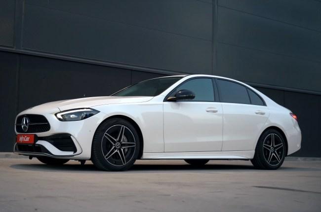 Mercedes-Benz C-Class вид сбоку