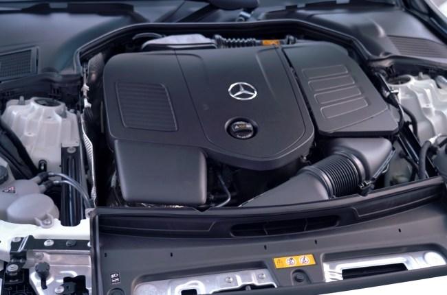 Mercedes-Benz C-Class двигатель