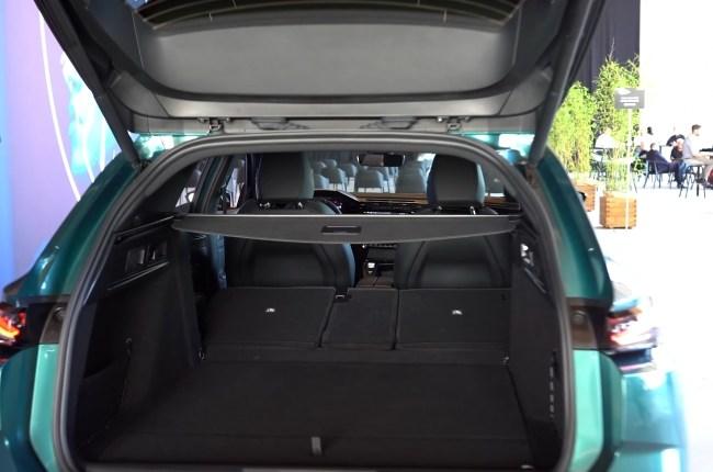 Peugeot 308 SW багажник