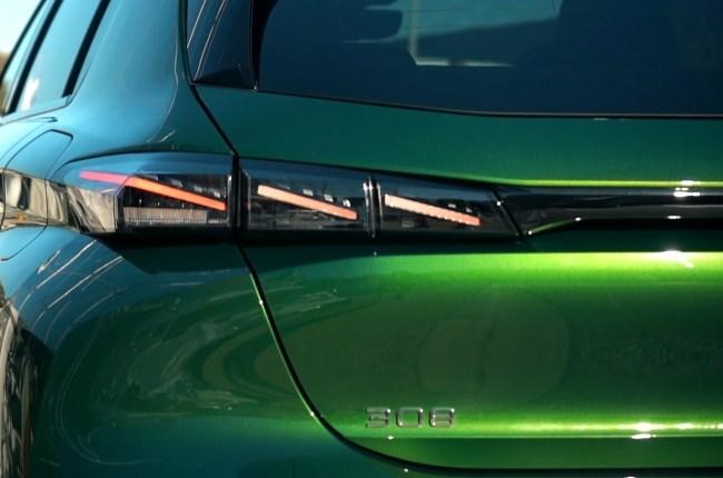 Peugeot 308 задние фонари