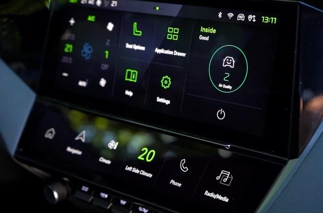 Peugeot 308 мультимедийная система