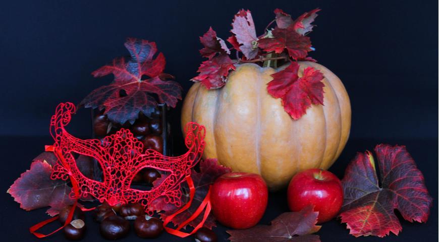 каштаны декор, Хэллоуин
